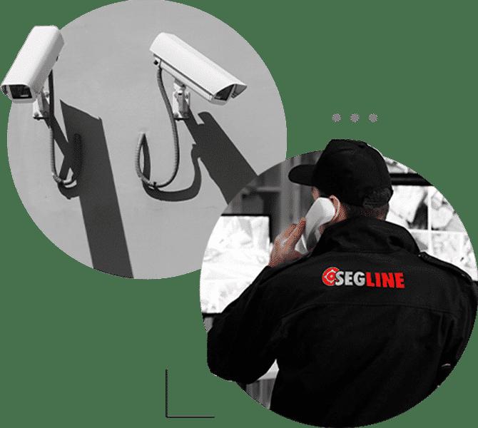 Profissionais treinados e monitoramento 24h